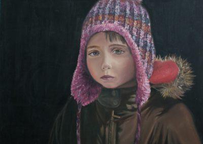 Autoportret w czapce Weronika Kazimierczak-min