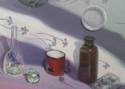 Martwa natura ze srebnym jabłkiem Julia Tazbir-min