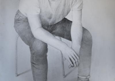 Portret mężczyzny Ada Olewińska-min