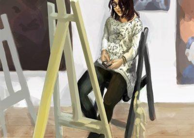 Studium modela Agnieszka Nowacka-min