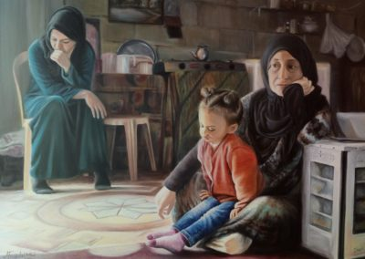 Syryjskie kobiety Magdalena Frąckowicz-min
