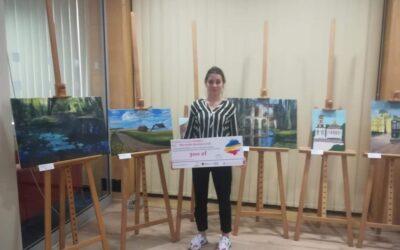 Sukces uczennicy w konkursie malarskim